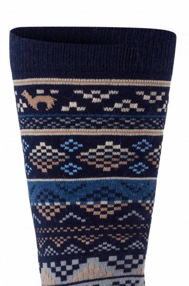 Alpaka Socken INKA 6er Pack aus 70% Baby Alpaka & 25% Pima Baumwolle