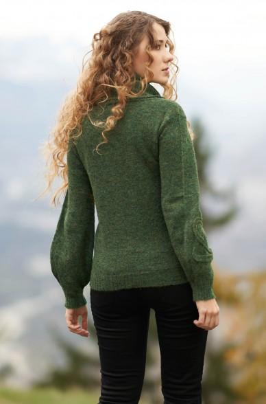 Alpaka Rollkragen Pullover SALOMON aus Alpaka Woll-Mix