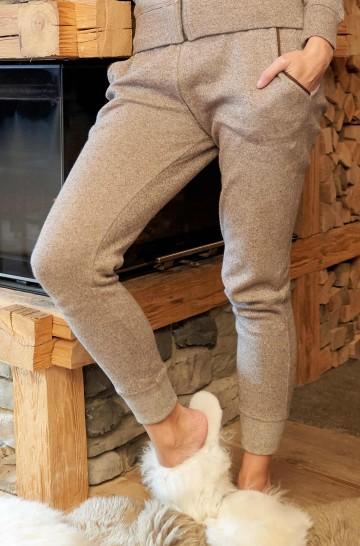 Alpaka Jogginghose aus 10% Royal Alpaka & 90% Pima Bio Baumwolle