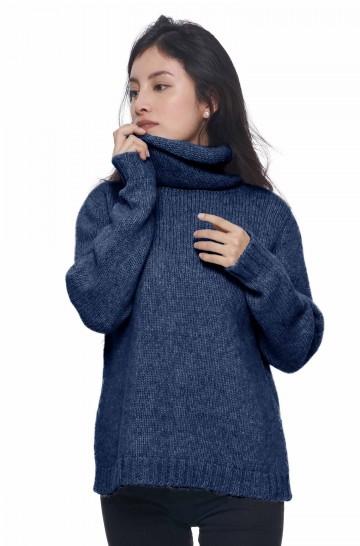 Rollkragen Pullover ASA aus Baby Alpaka und Merino