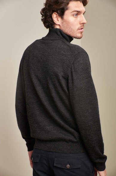 Alpaka Herren Strick Pullover ALBERT KUNA Essentials