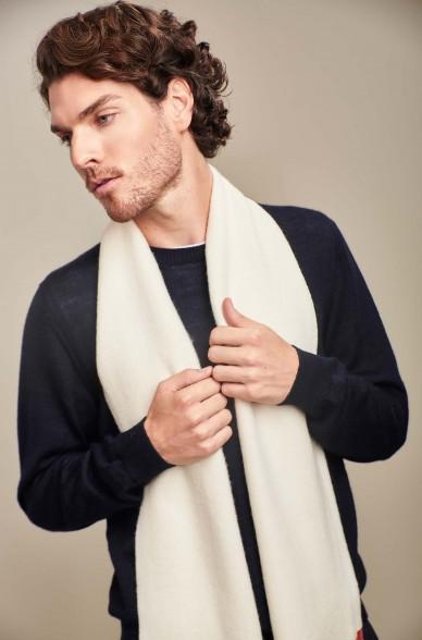 Schal ADRIAN aus reinem Baby Alpaka für Damen und Herren von KUNA Essentials
