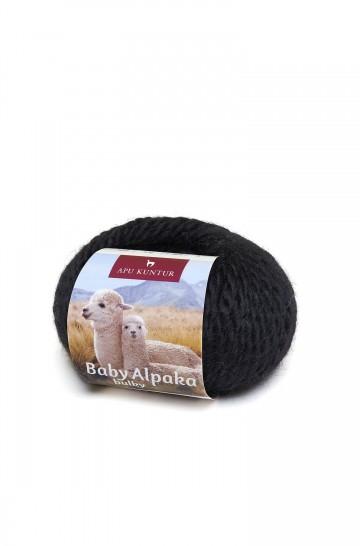1kg Kone Baby-Alpaka-Wolle BULKY 50m Nadel 8 Strick-Häkel-Garn Nm 2/2 APU KUNTUR
