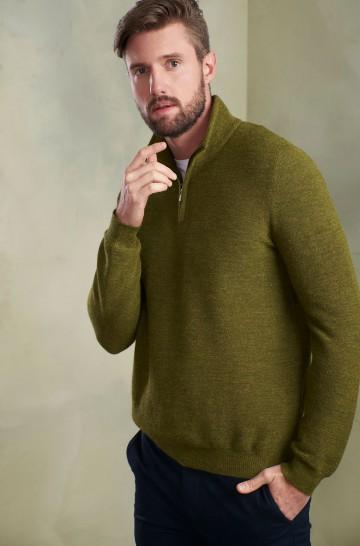 Pullover SAMED aus Baby Alpaka für Herren