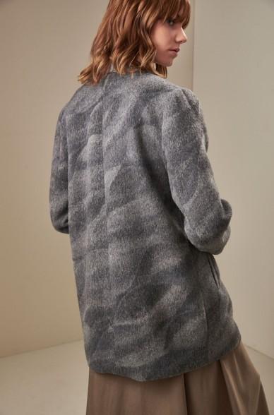 Mantel UMA aus Baby Alpaca