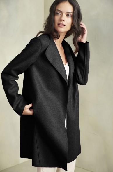 Mantel RENOVATA aus Baby Alpaka und Wolle für Damen