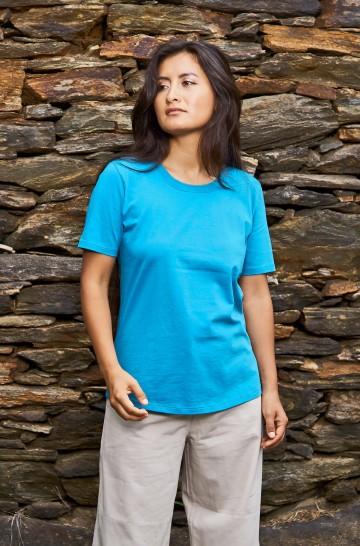 Kurzarm T-Shirt aus 100% Bio Pima Baumwolle