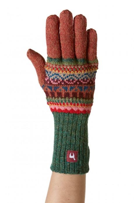 Alpaka Fingerhandschuhe LUNA aus 100% Baby Alpaka