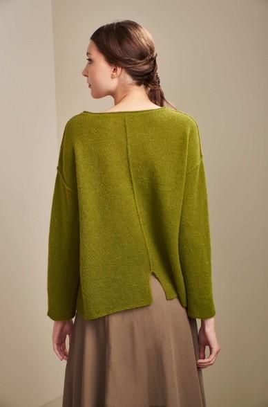 Pullover UNICORNIO aus Baby Alpaka und Seide