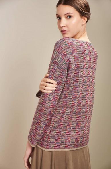 Pullover UCRANIA aus Baby Alpaka