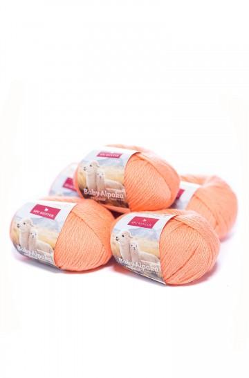 5er-Pack AKTION Baby-Alpaka Wolle REGULAR 5x50g