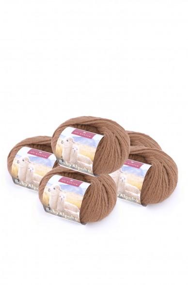 Alpaka Wolle REGULAR | 50g | 5er Pack | 100% Baby Alpaka | 32+ Farben
