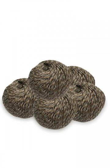 5er-Pack ALPAKA SOCKENGARN 5x50g 200m Nadel 2,5 Socken-Strumpf-Wolle mehrfarbig handgefärbt Nm 4/16 APU KUNTUR