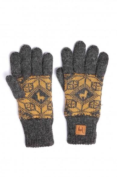 Alpaka Fingerhandschuhe ANDEN ROCA aus 100% Alpaka Superfine