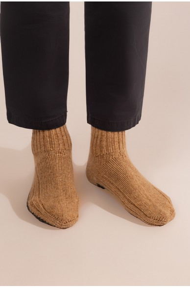 Pantoffeln ULLIVISTA  aus Baby Lama