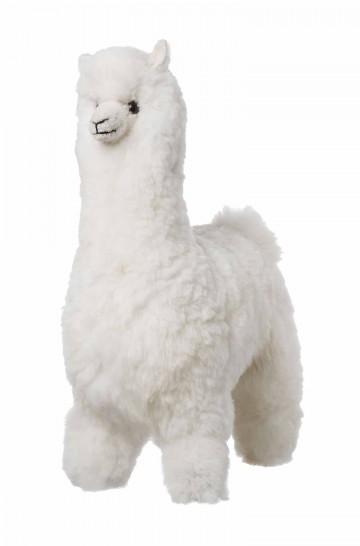 Alpaka Kuscheltier - 50cm aus 100% Alpaka Fell
