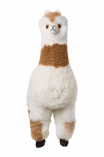 Alpaka Kuscheltier - 70cm aus 100% Alpaka Fell