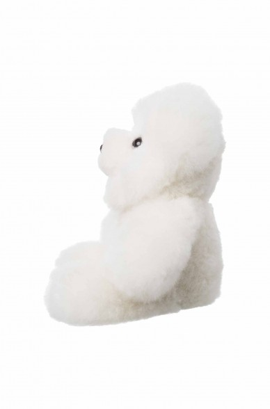 Alpaka Kuscheltier TEDDY (30cm) aus Alpaka Fell