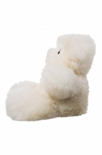 Alpaka Kuscheltier TEDDY (50cm) aus Alpaka Fell