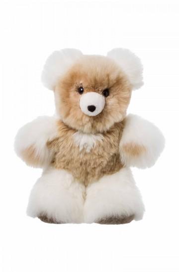 Fell-Teddy 50cm Alpaka-Kuscheltier von APU KUNTUR