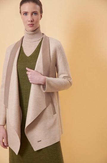 Mantel RUNAWAY aus Alpaka und Wolle