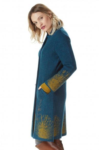 Alpaka Mantel GOLDIE aus Alpaka und Wolle