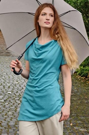 Tunika Shirt RUTH aus Bio Baumwolle für Damen