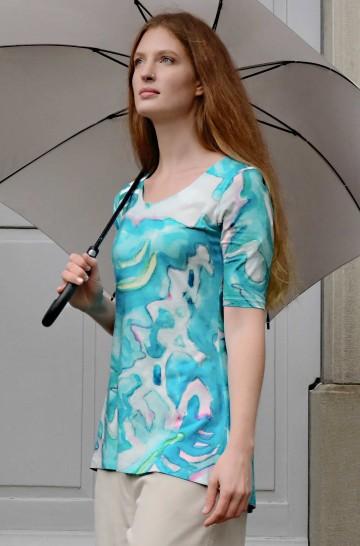 Tunika SILVIA aus Bio Baumwolle für Damen