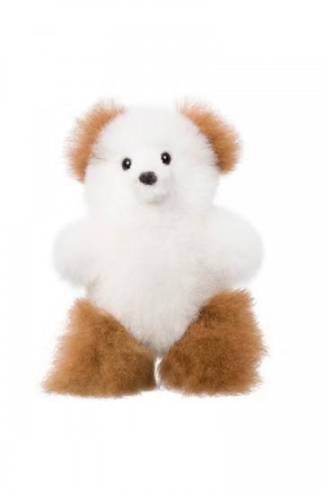 Fell-Teddy 15cm Alpaka-Kuscheltier von APU KUNTUR