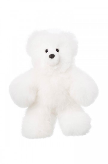 Fell-Teddy 22cm Alpaka-Kuscheltier von APU KUNTUR