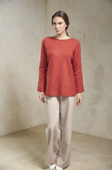 Pullover SAMANTHA von KUNA aus Baby Alpaka für Damen