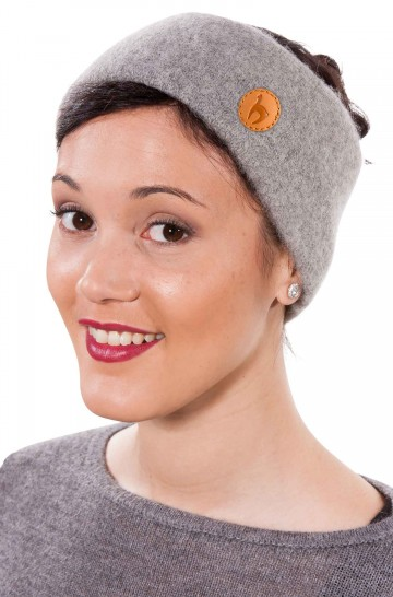 Alpaka Stirnband STRETCH aus 96% Baby Alpaka