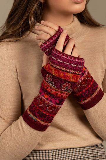 Pulswärmer Handschuhe UKALI aus Baby Alpaka