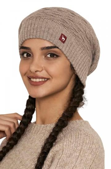 Beret BIESEN Basken-Mütze aus reinem Alpaka Damen