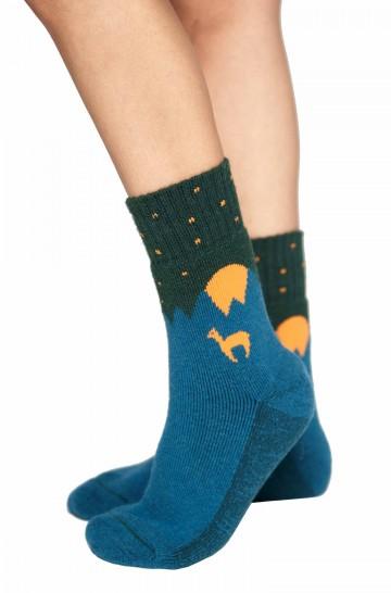 Alpaka Socken ABS mit 52% Alpaka & 35% Wolle
