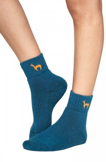 Alpaka Socken ABS kurz 6er Pack mit 52% Alpaka & 35% Wolle