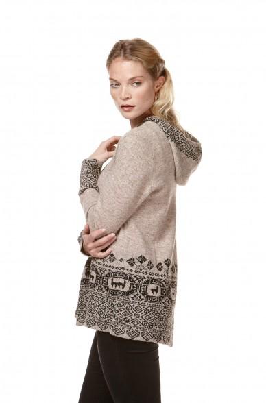 Alpaka Pullover DIVINO aus 100% Baby Alpaka