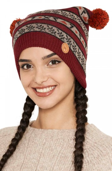 Alpaka Mütze BELLA aus 100% Baby Alpaka