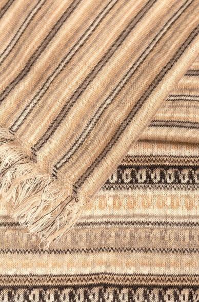 Schal Stola PLUMA aus Baby Alpaka