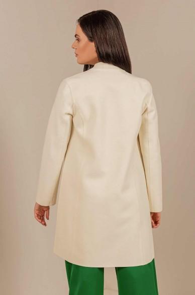 Mantel IBIS mit Stehkragen aus Baby Alpaka-Wolle