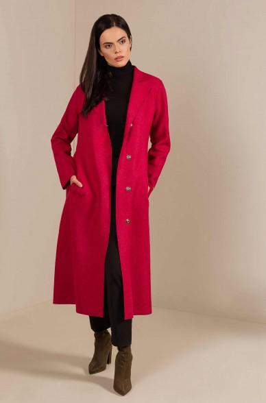 Mantel UNIQUE aus Alpaka und Wolle