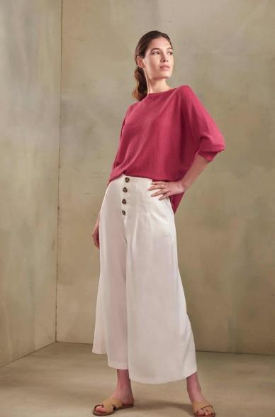 Pullover TZIGANE aus Baby Alpaka und Seide für Damen