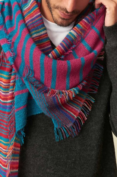 Schal UPI aus Baby Alpaka