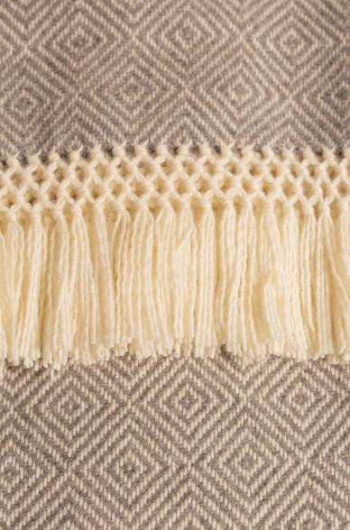 UAMACHO Decke aus Alpaka-Wolle