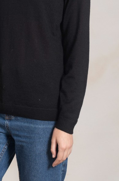 Rollkragen Pullover ADELINE aus reinem Baby Alpaka