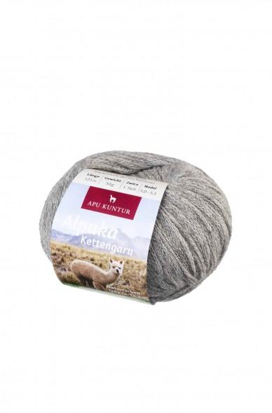 Kennenlernpaket: Alpaka Wolle KETTENGARN