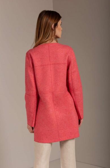 Alpaka Mantel USUEL aus Alpaka und Wolle