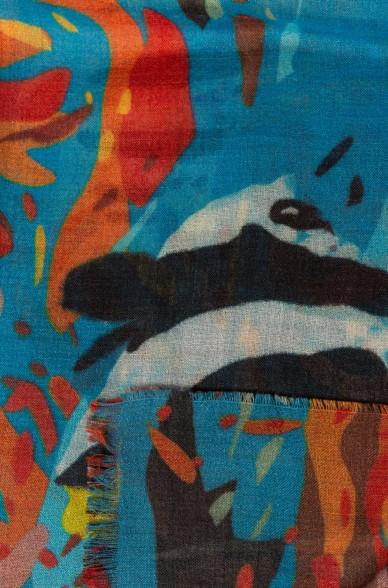 Alpaka Schal UACAYA aus Baby Alpaka und Seide