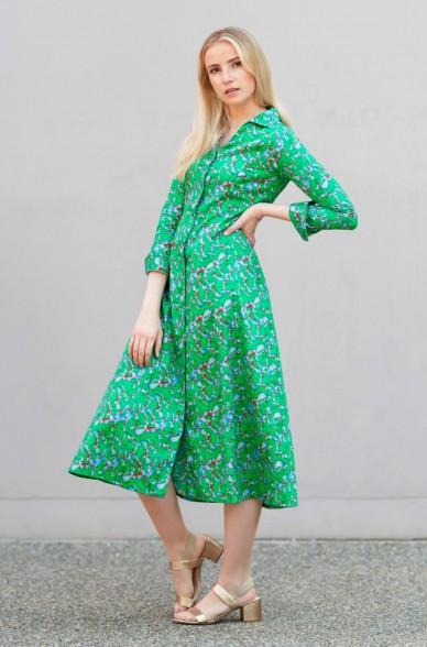 Kleid LUCY aus 100% Pima Bio Baumwolle