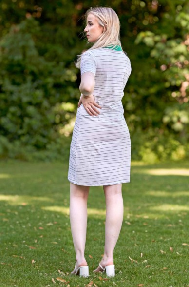 Polo Kleid LINEAS aus 100% Pima Bio Baumwolle